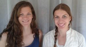 Sara Kralmark och Alma Hess